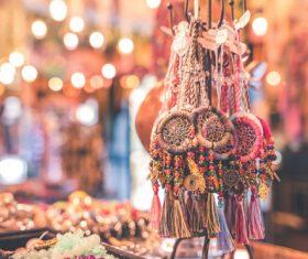 Exotic jewelry pendant Stock Photo 02
