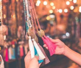 Exotic jewelry pendant Stock Photo 03