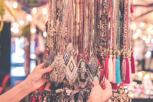 Exotic jewelry pendant Stock Photo 04