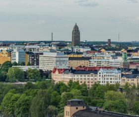 Finland Helsinki landscape Stock Photo 02