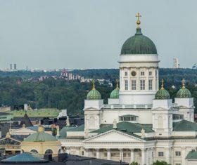 Finland Helsinki landscape Stock Photo 03