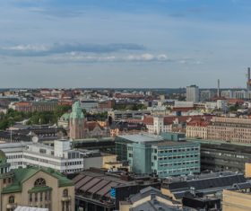 Finland Helsinki landscape Stock Photo 04