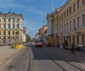 Finland Helsinki landscape Stock Photo 10