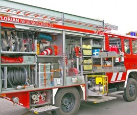 Fire truck Stock Photo 01