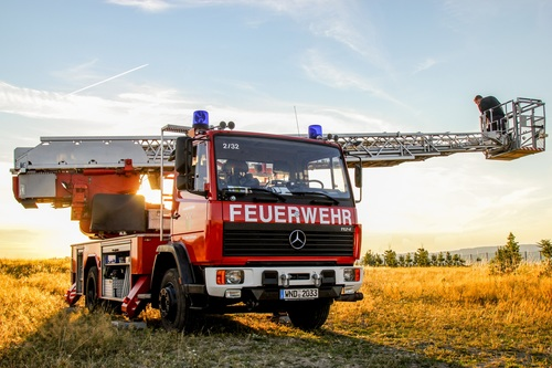 Fire truck Stock Photo 04