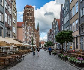 Gdansk landscape Poland Stock Photo 01