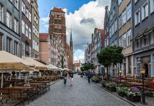 Gdansk landscape Poland Stock Photo 01