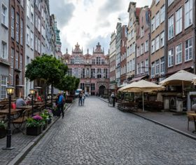 Gdansk landscape Poland Stock Photo 02