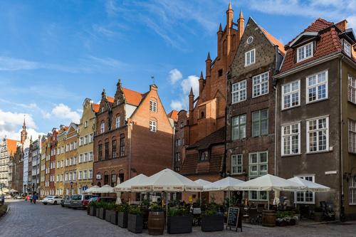 Gdansk landscape Poland Stock Photo 03