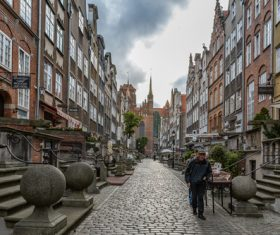 Gdansk landscape Poland Stock Photo 04