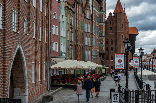 Gdansk landscape Poland Stock Photo 05