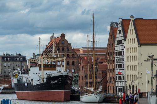 Gdansk landscape Poland Stock Photo 06