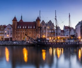 Gdansk landscape Poland Stock Photo 09
