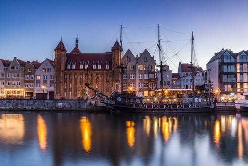Gdansk landscape Poland Stock Photo 09