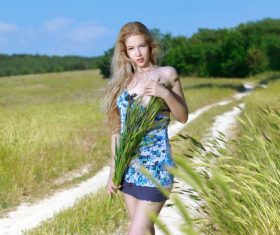 Girl art photography Stock Photo
