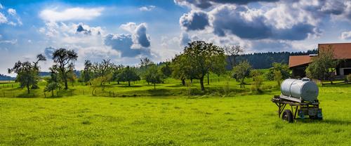 Green natural scenery Stock Photo 03