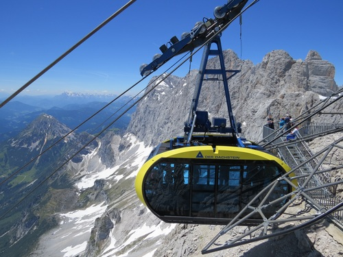 High altitude cable car Stock Photo 06
