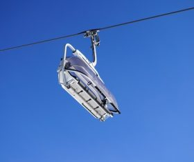 High altitude cable car Stock Photo 07