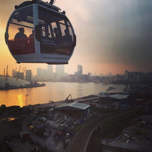High altitude cable car Stock Photo 08