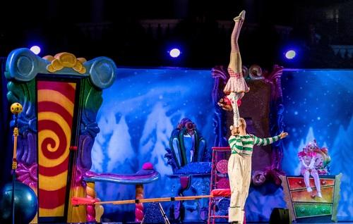 Highly ornamental acrobatic performance Stock Photo 07
