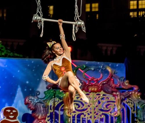 Highly ornamental acrobatic performance Stock Photo 12