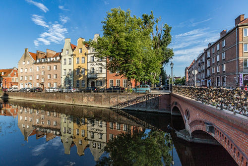 Historical and cultural city Gdansk city scenery Stock Photo 02