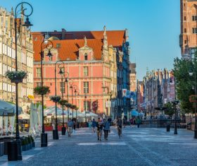 Historical and cultural city Gdansk city scenery Stock Photo 09