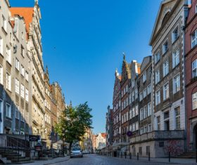 Historical and cultural city Gdansk city scenery Stock Photo 10