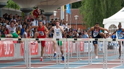 Hurdle race Stock Photo 02