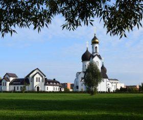 Klaipeda Church Stock Photo