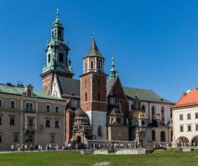 Krakow cityscape Poland Stock Photo 01