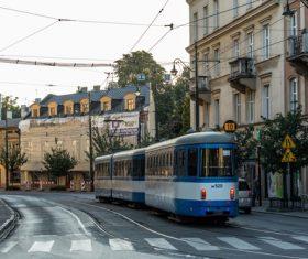 Krakow cityscape Poland Stock Photo 05