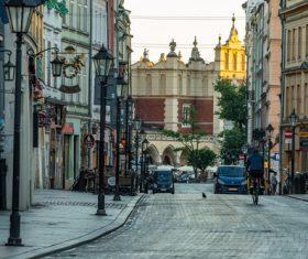 Krakow cityscape Poland Stock Photo 06