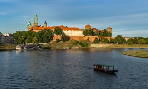 Krakow cityscape Poland Stock Photo 10