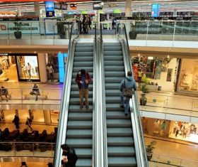 Large shopping mall Stock Photo 01