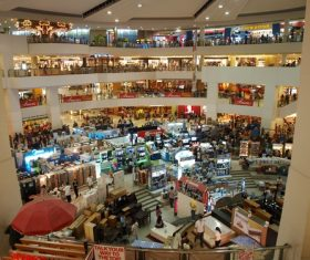 Large shopping mall Stock Photo 03
