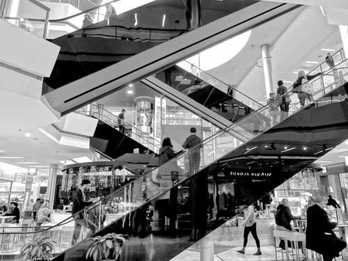 Large shopping mall Stock Photo 05