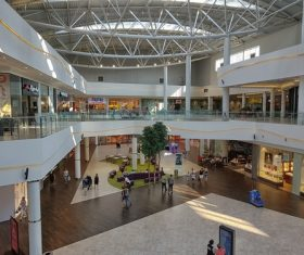 Large shopping mall Stock Photo 06