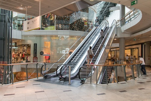 Large shopping mall Stock Photo 07