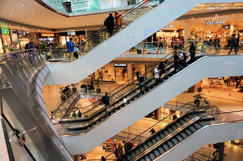 Large shopping mall Stock Photo 08