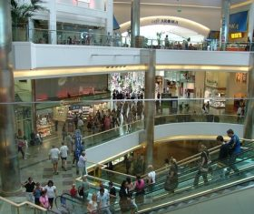 Large shopping mall Stock Photo 09