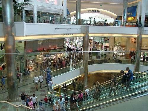 Large shopping mall Stock Photo 09