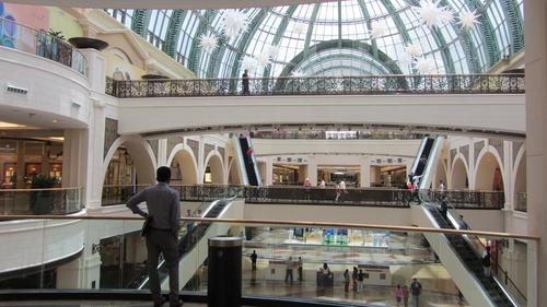 Large shopping mall Stock Photo 10
