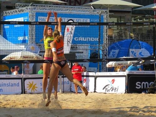 Leisure beach volleyball Stock Photo 03
