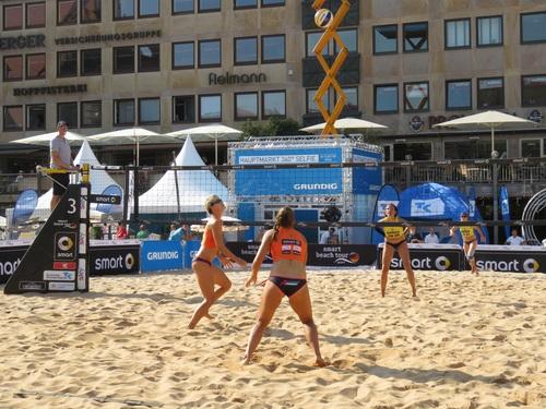 Leisure beach volleyball Stock Photo 04