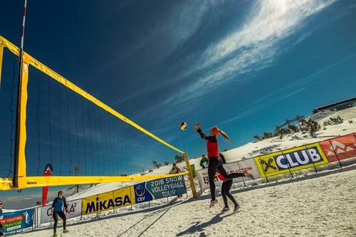 Leisure beach volleyball Stock Photo 07