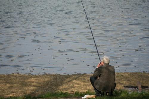 Leisure fishing Stock Photo 01