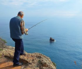 Leisure fishing Stock Photo 02
