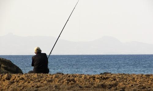 Leisure fishing Stock Photo 04