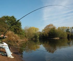Leisure fishing Stock Photo 09
